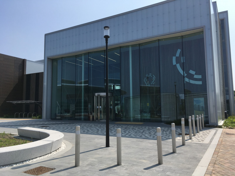 LVV Building Front 3 (with new signage) -